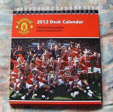 Official Manchester United FC Desk Tent Calendar 2012 Book