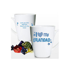 Personalised I Love My.....Dad Grandad Uncle Brother Mug Birthday Gift
