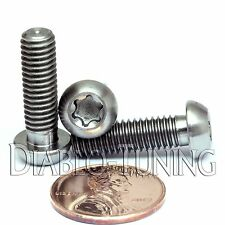 TITANIUM M6 x 20mm - BUTTON HEAD Cap Screw BHCS - T30 TORX drive / Star / 6lobe