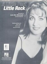 A Little Past Little Rock - Lee Ann Womack - 1998 Sheet Music
