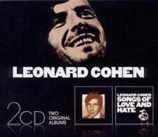 Leonard Cohen - Songs Of Leonard Cohen/Songs Of Love And Hate *2 CD*NEU*