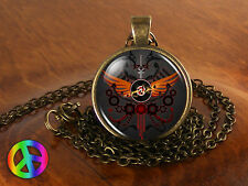 Homestuck Black Game Comic Necklace Pendant Charm Jewelry Cosplay Anime Men Gift
