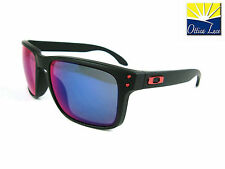OAKLEY HOLBROOK 9102-36 Black red Iridium Colori  Ducati Sunglass Occhiali Sole