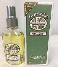 L'Occitane Amande (Almond) Supple Skin Oil with Almond Oil,3.4oz - 90% Full