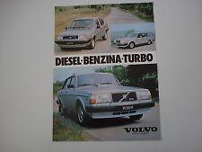 advertising Pubblicità 1982 VOLVO GL/GLE