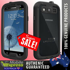 GENUINE Lifeproof Nuud Waterproof Case in Black Suits Samsung Galaxy S3 & S3 4G
