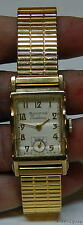 VINTAGE ART DECO BULOVA NEW YORK EXCELLENCY WRIST WATCH 21 JEWELS 10K Gold Fill