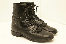 Womens size 9 ARIAT A1 COMPETITOR Kiltie lace up boots