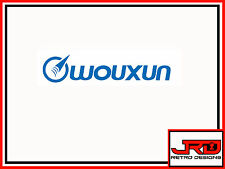 Wouxun Vinyl Logo Sticker in Blue