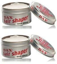 2 X Dax Wax Hair Shaper Tins 99g