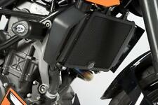 R&G BLACK RADIATOR GUARD for KTM 390 DUKE, 2013 to 2015
