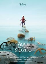 POSTER ALICE THROUGH THE LOOKING GLASS JOHNNY DEPP ANNE HATHAWAY LOCANDINA #4