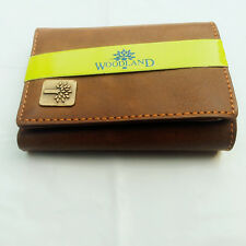 sky Tri Fold  Wallet  for Men  with Card Slots - Brown