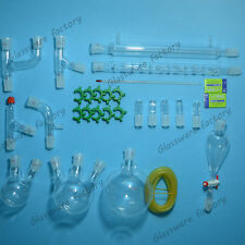 New advanced chemistry Lab glassware kit,24/29 Ground Joint,lab glass