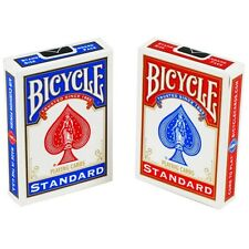 2 Decks Bicycle Rider Back 808 Standard Poker Playing Cards Red & Blue New