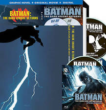 Batman: The Dark Knight Returns, Part 1 and Part 2 (Blu-ray Disc, 2016,...