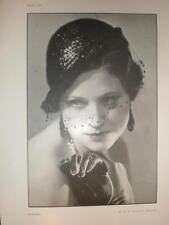 Modern H B Burdekin female portrait art photograph 1933