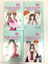 Fruits Basket Ultimate Edition Vol. 1-4 Hardcover Manga Set TokyoPop 2007