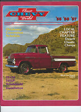 AUGUST 1983 Classic Chevy World 1955 1956 1957 TECH Help WINDSHIELD INSTALLATION