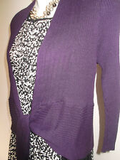 New with Tag M&Co Petite Purple  Bolero/Cardigan/Shrug