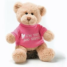 I'm The Big Sister Message 12 inch Bear Plush, NEW with Tags, by GUND