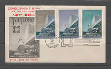 Philippine Stamps 1972 Development Bank of the Philippines Complete Set on FDC