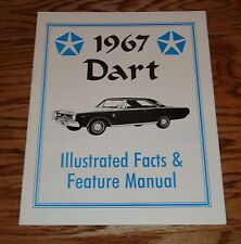 1967 Dodge Dart Illustrated Facts & Feature Manual 67