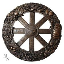 Nemesis Now Wiccan Wheel of the Year Wall Plaque