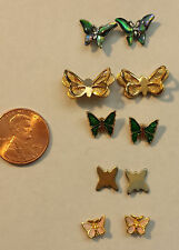 Butterfly Earrings Assorted 5 pairs Post (Stud)