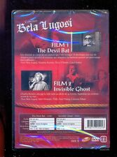 DVD collection BELA LUGOSI : The Devil Bat (1940) + Invisible Ghost (1941)