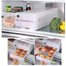New 32pcs Egg Storage 2 Floor drawer Tray Holder Fridge Egg Holder Organizer