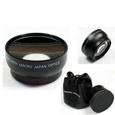 67mm Thread 0.45x Wide Angle Macro Lens HD for Canon Nikon Olympus DSLR Camera