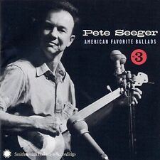 American Favorite Ballads Vol 3 - Pete Seeger Compact Disc
