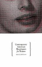 Contemporary American Monologues for Women-ExLibrary
