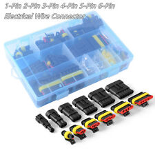 Vehicle Electrical Wire Connector Plug Terminals 1 2 3 4 5 6 Pin Way Fuses & Box