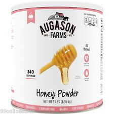Augason Farm Emergency Disaster Survival Camp RV Food Baking Honey Powder Season