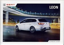 Seat Leon 11 / 2015 catalogue brochure tcheque Czech rare