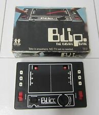 TOMY BLIP HANDHELD DIGITAL GAME 7018 EXC w/ BOX 1977