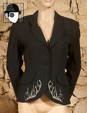 'CACHAREL' 80s EMBROIDERED JACKET - UK 8 small 10
