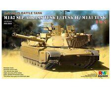 RYE FIELD MODEL M1A2 SEP ABRAMS TUSK I/TUSK II/M1A1 TUSK 1/35 COD.RM5004