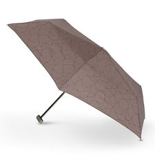 Doppler Carbon Steel Mini Slim Gloria  Folding Umbrella 5 Year Warranty! Brown