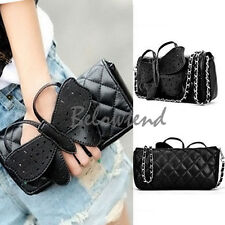 Fashion Lady Lovely Butterfly Bowknot Handbag Crossbody Shoulder Bag Wallet