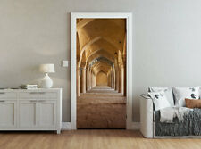 ohpopsi Classic Stone Archway Accent Wall/Door Mural