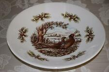 THE VICTORIAN ENGLISH POTTERY PHEASANT WOODLAND LARGE PASTA SERVING BOWL