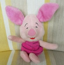 "Piglet from Winnie the Pooh 8"" plush soft toy by Disney"