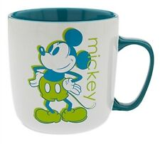 Disney Store Mickey Mouse Color Contrast Coffee Mug Brand New