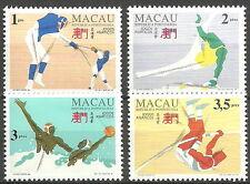 Macau - Asienspiele - Hiroshima postfrisch 1994 Mi. 770-773