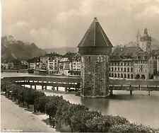 Photoglob, Suisse, Lucerne, Luzern  vintage photomechanical Photomécanique