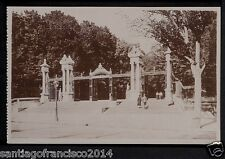1881.-MADRID -50 Retiro. Puerta de Alfonso XII