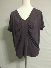 NEW Urban Outfitter Sparkle And Fade Oversized Purple Tunic Top  Size M 8-10